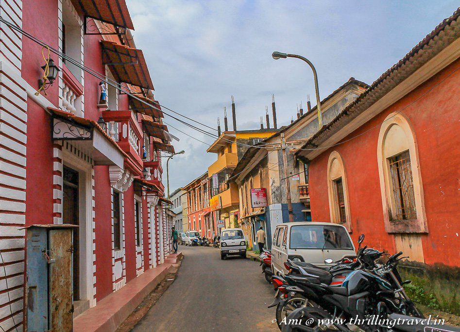 The colorful Goan-Portuguese homes of Fontainhas Goa