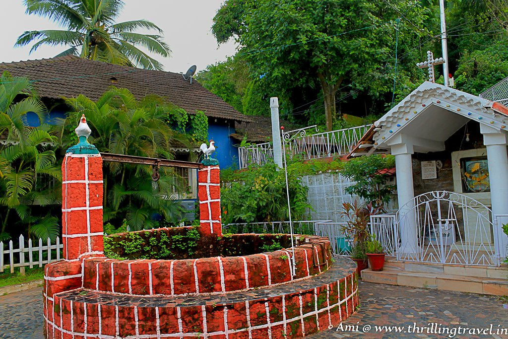 The Old Portuguese Well in the Old Latin Quarters of Goa