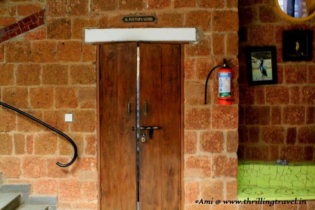 Harry Potter Room in Shiksha Niketan School, near the Houses of Goa Museum