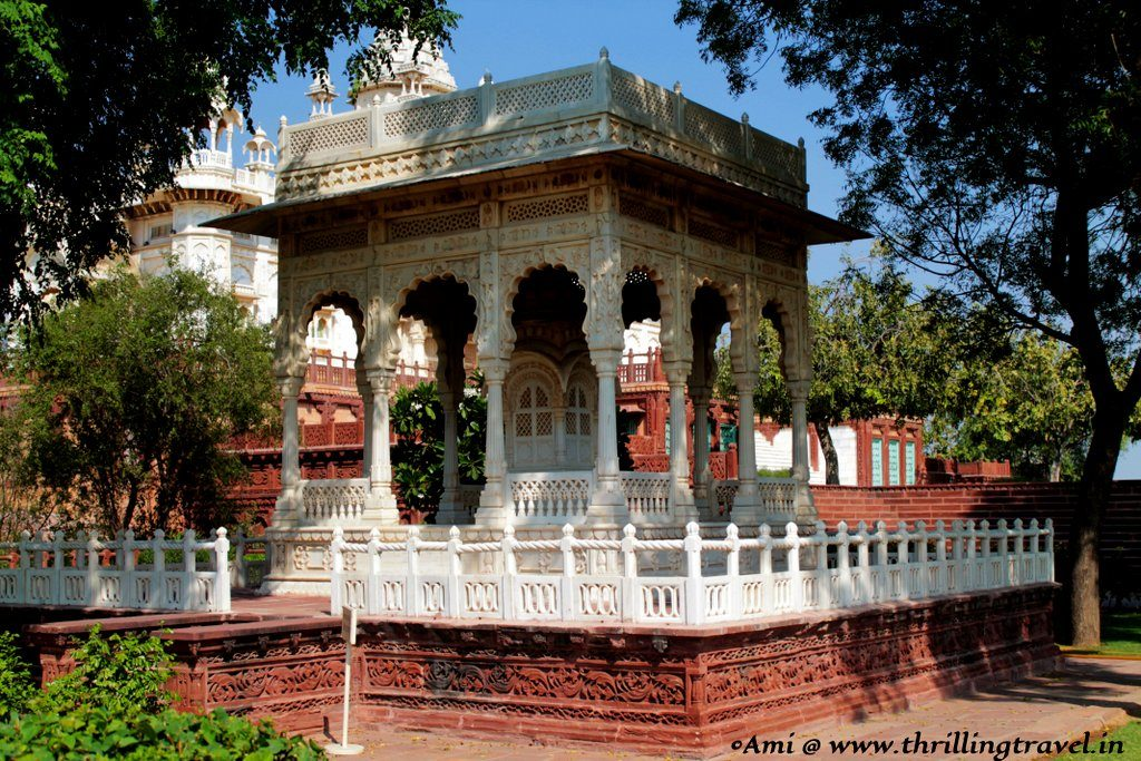 One of the Memorials at Jaswant Thada