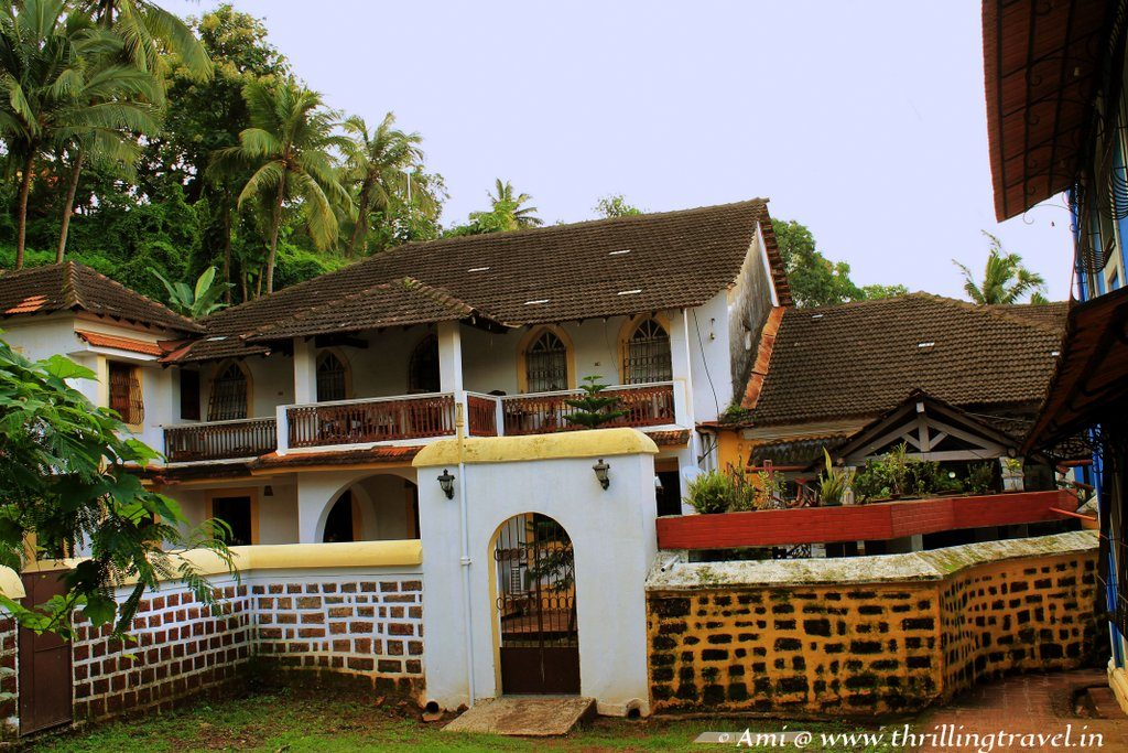 A Heritage house in the Fontanhas area of Panjim, Goa