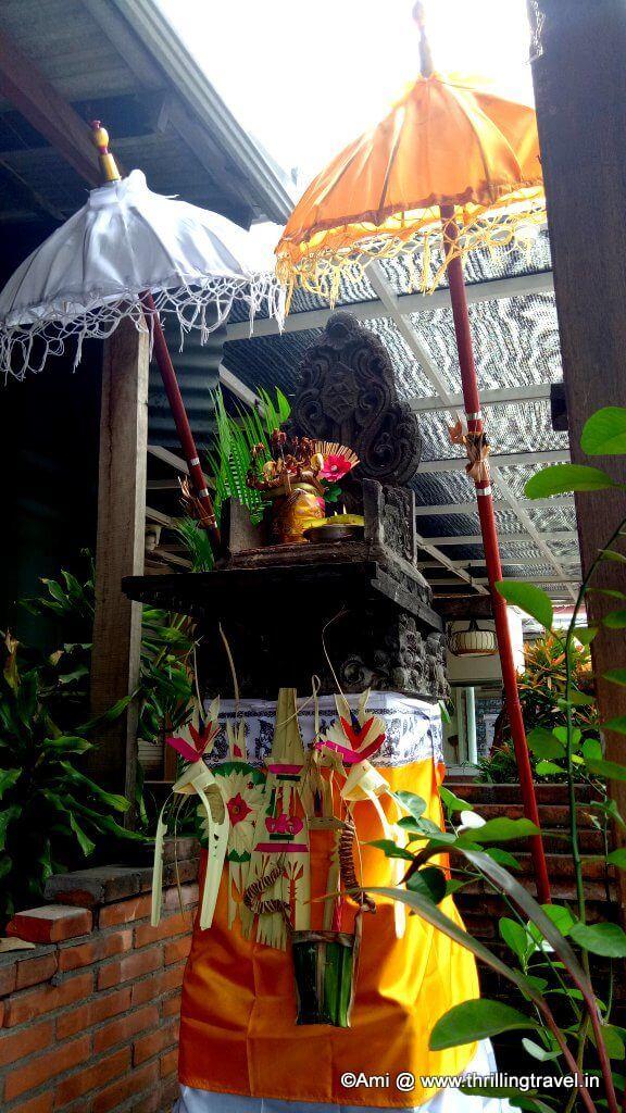 Pelinggih in Bali