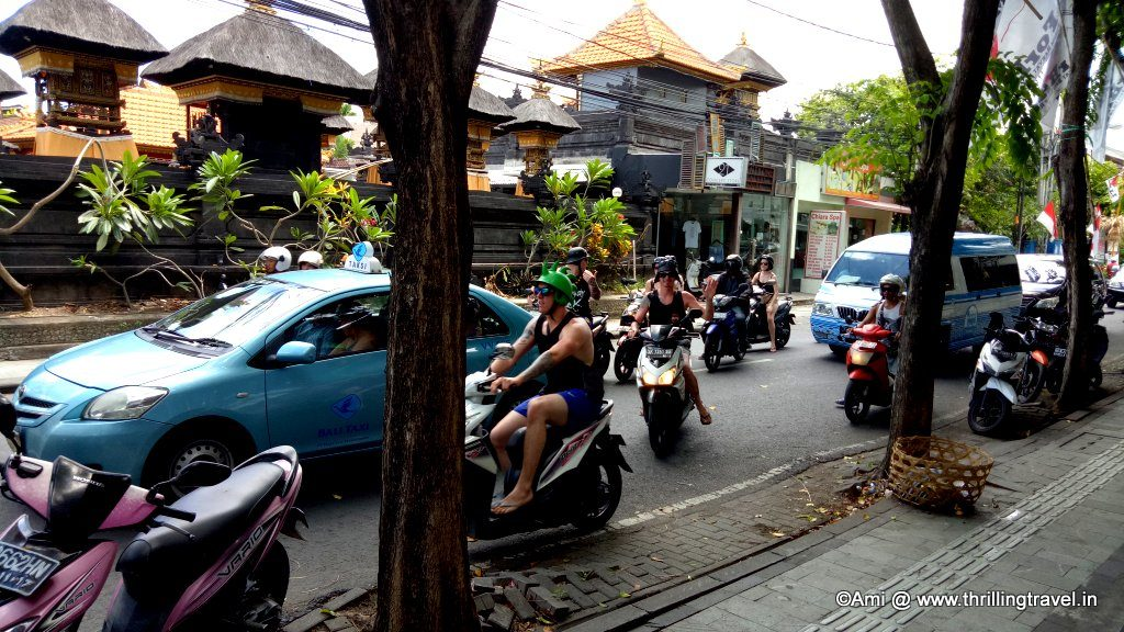 Travel Tips for Indonesia: Local conveyance including taxis and bikes