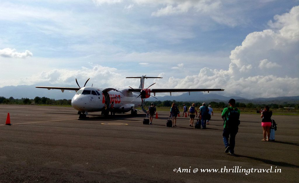 Travel Tips for Indonesia - Use internal flights to travel between destinations in the country