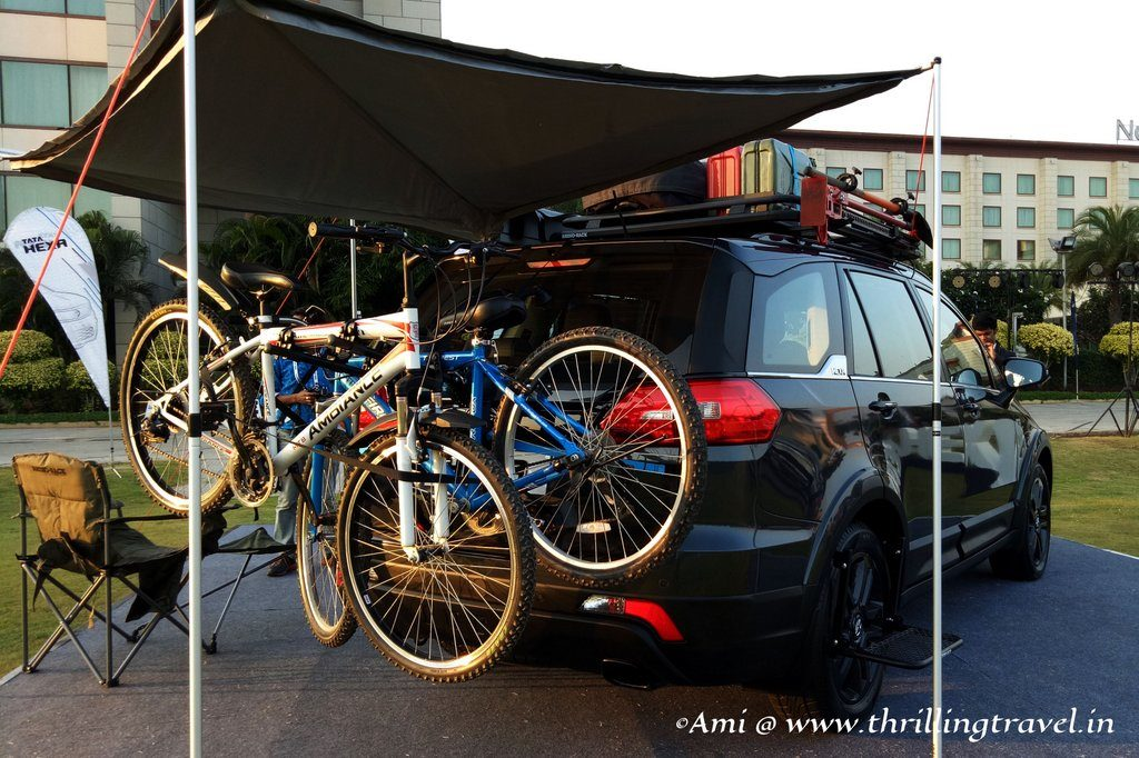 Fully Equipped Tata Hexa ready for camping and sports