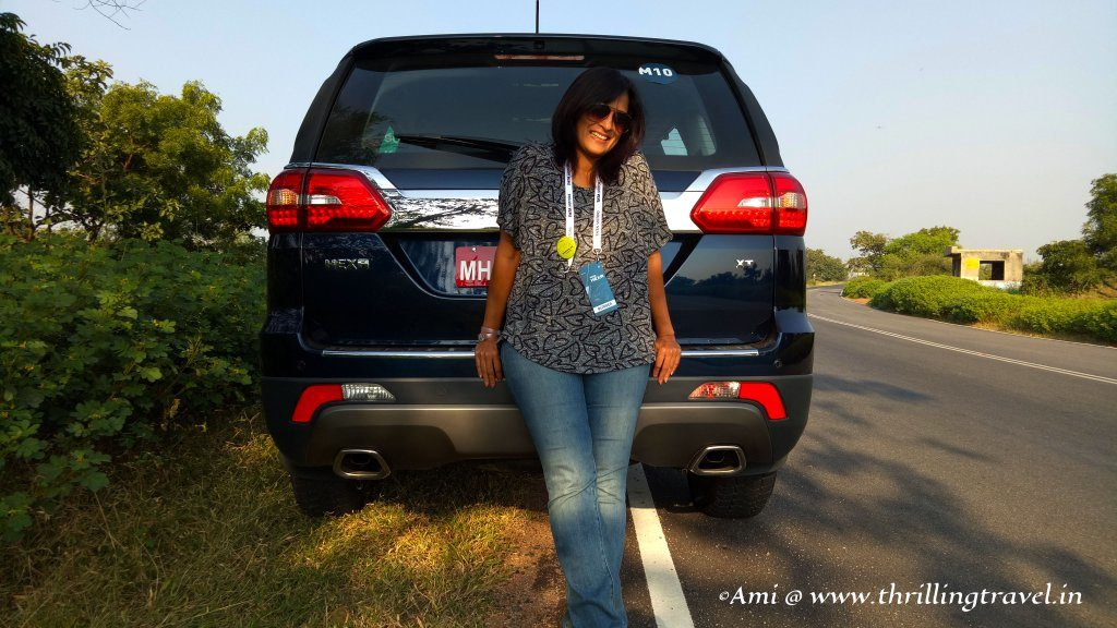 On a road trip with Tata Hexa