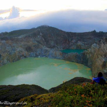 Magic of Mount Kelimutu in Flores, Indonesia