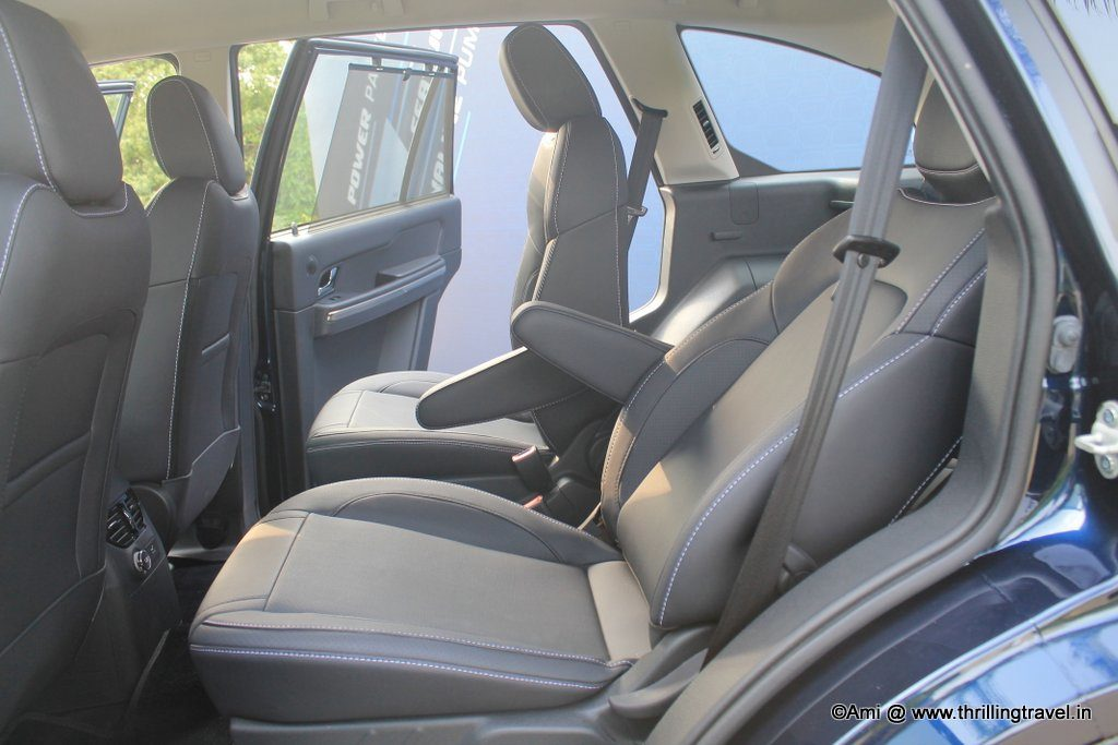Seat belts for all - Tata Hexa