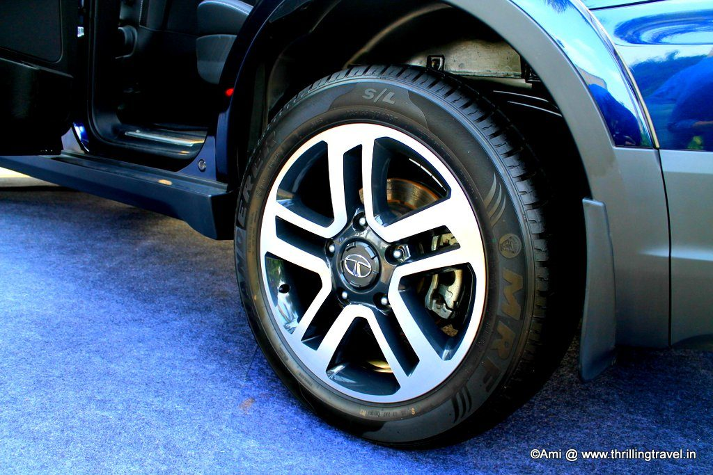 19 inch alloy wheels - Tata Hexa