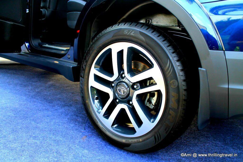 19 inch alloy wheels - Tata Hexa
