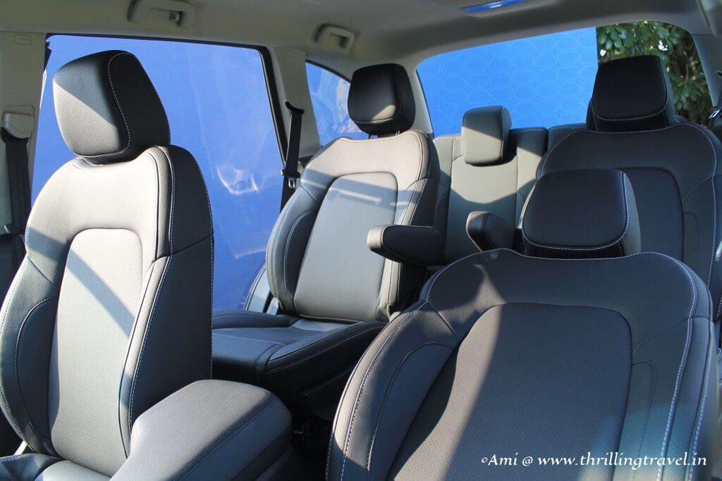 Seating system - Tata Hexa