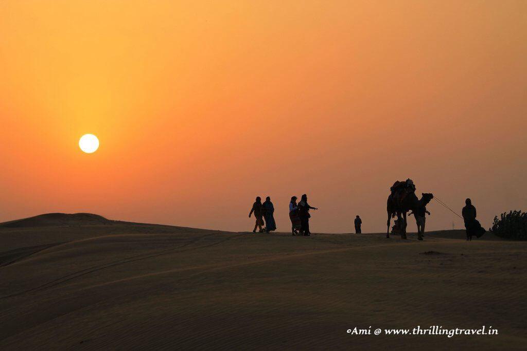 Desert experience at Jaisalmer