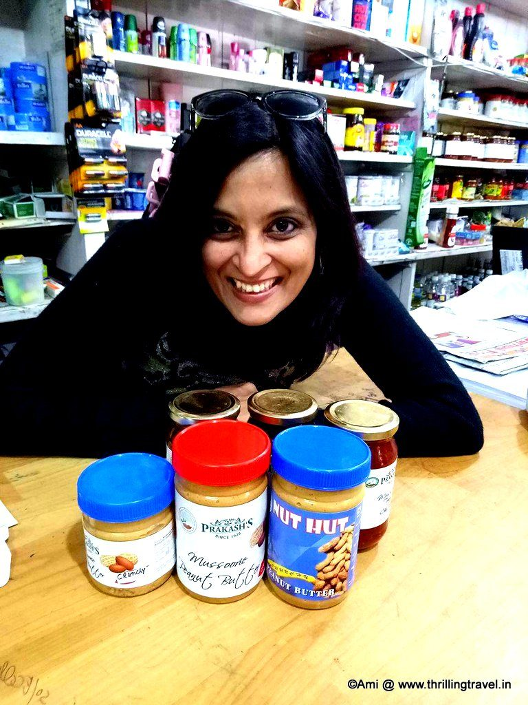 Peanut butter and Jams at Anil Prakash stores, Landour