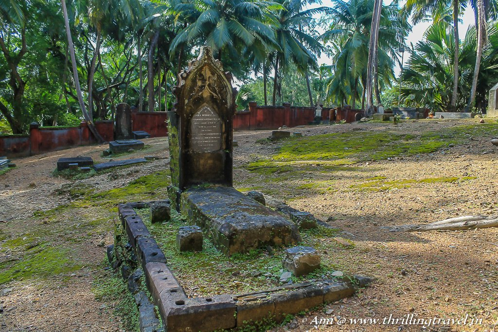 The Cemetery on Ross Island, Andaman and Nicobar Islands