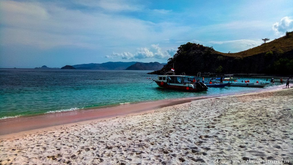 Pink Beach, Komodo National Park, Flores, Indonesia