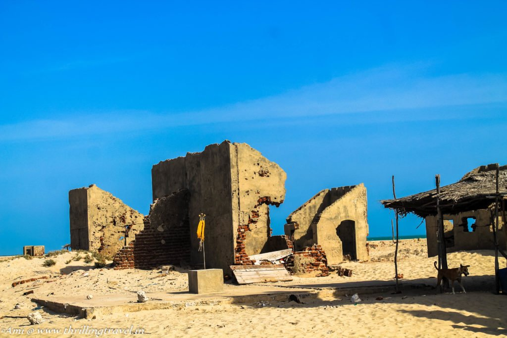 The Ruins of Dhanushkodi, Old post office