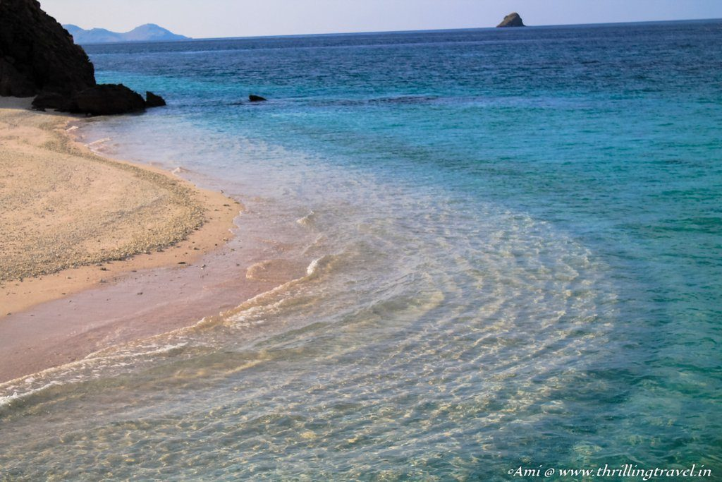 Mawun Island with its clear waters and stunning coral life. Flores, Indonesia