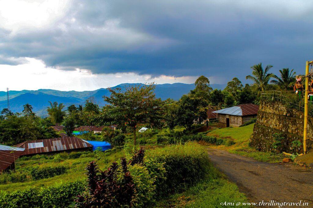 Melo village, Flores