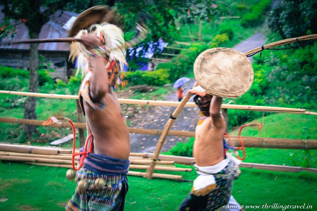 Caci Dance or the War Dance of Flores