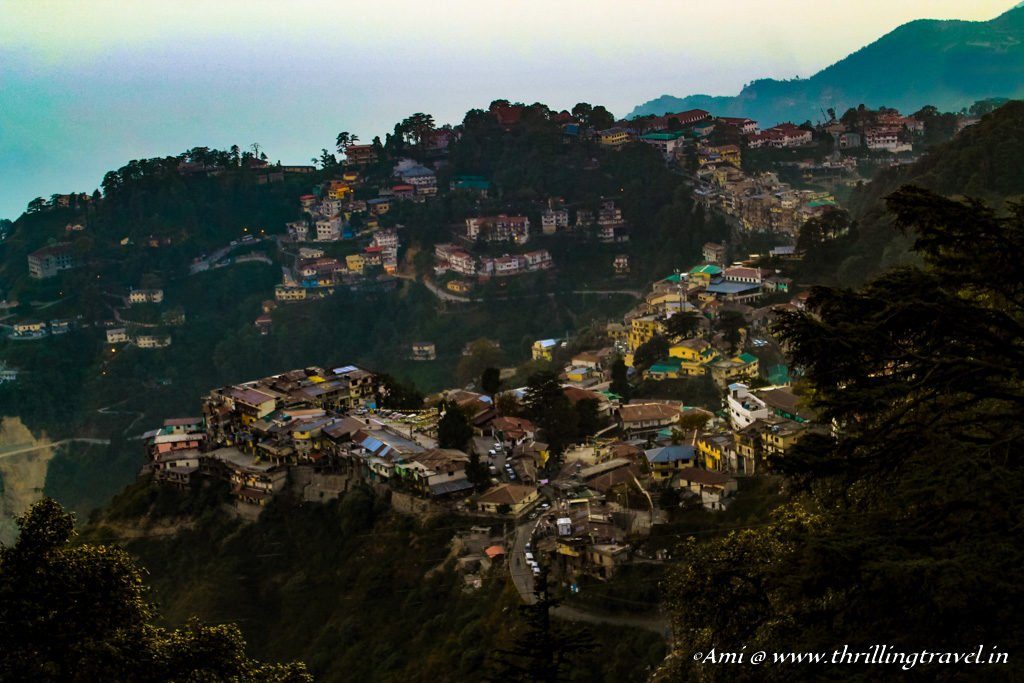 View of Landour - Mussoorie from Rokeby Manor