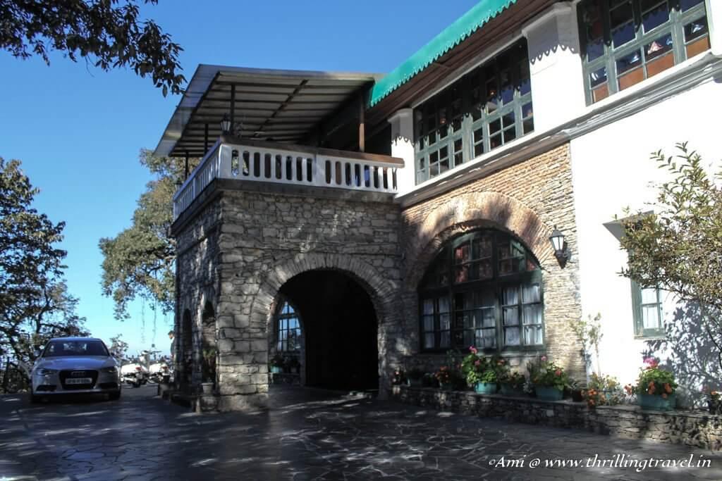 Entrance to Rokeby Manor, Landour