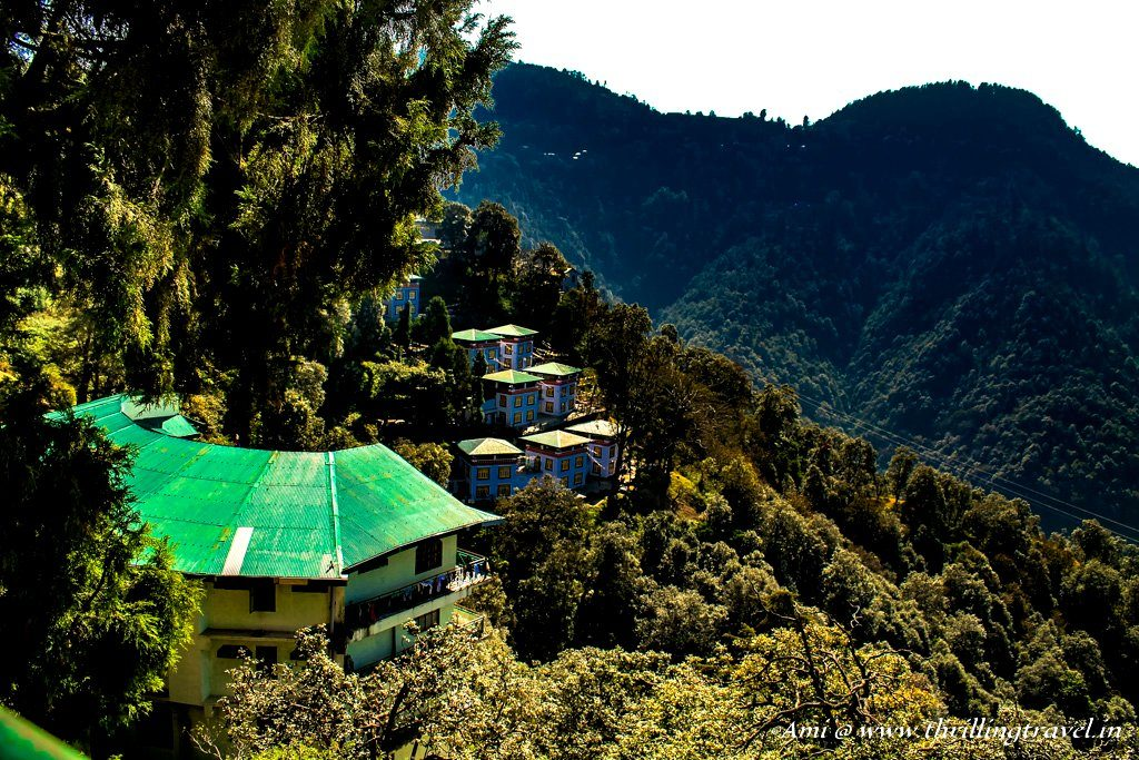 The Tibetan school in Happy Valley, Mussoorie