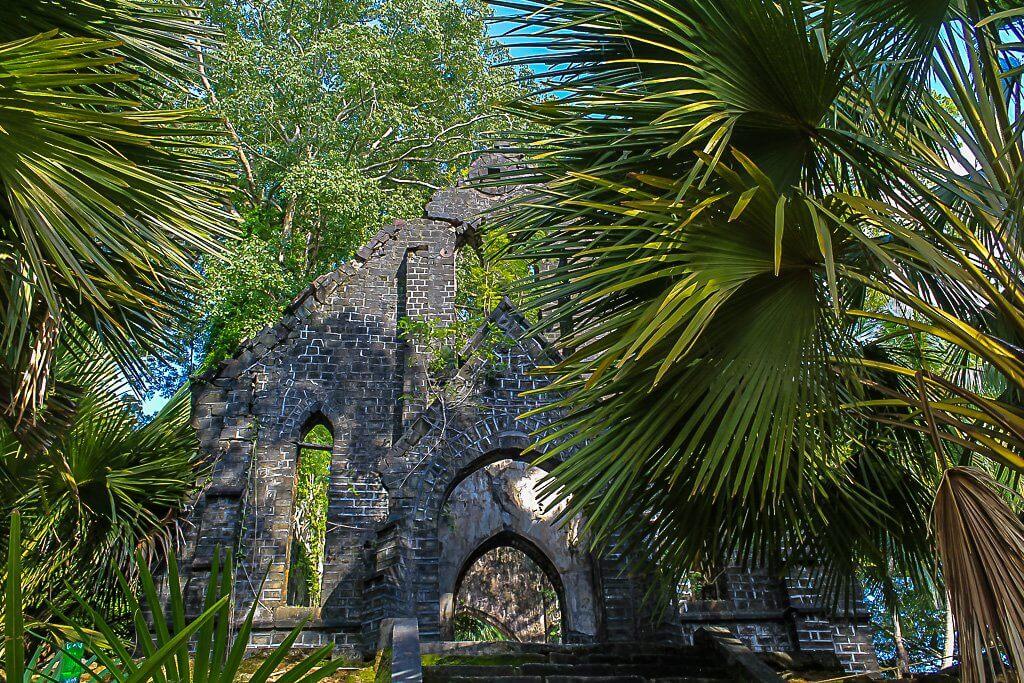 The Presbyterian church on Ross Islands