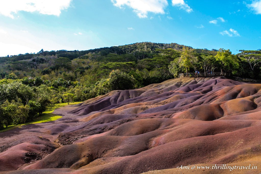 Chamarel - the 7 colors of Earth in Mauritius