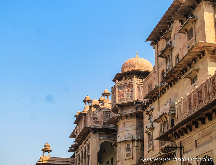 Junagarh Fort Bikaner - near the boundary wall