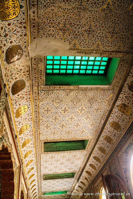 Ceiling of Anup Mahal