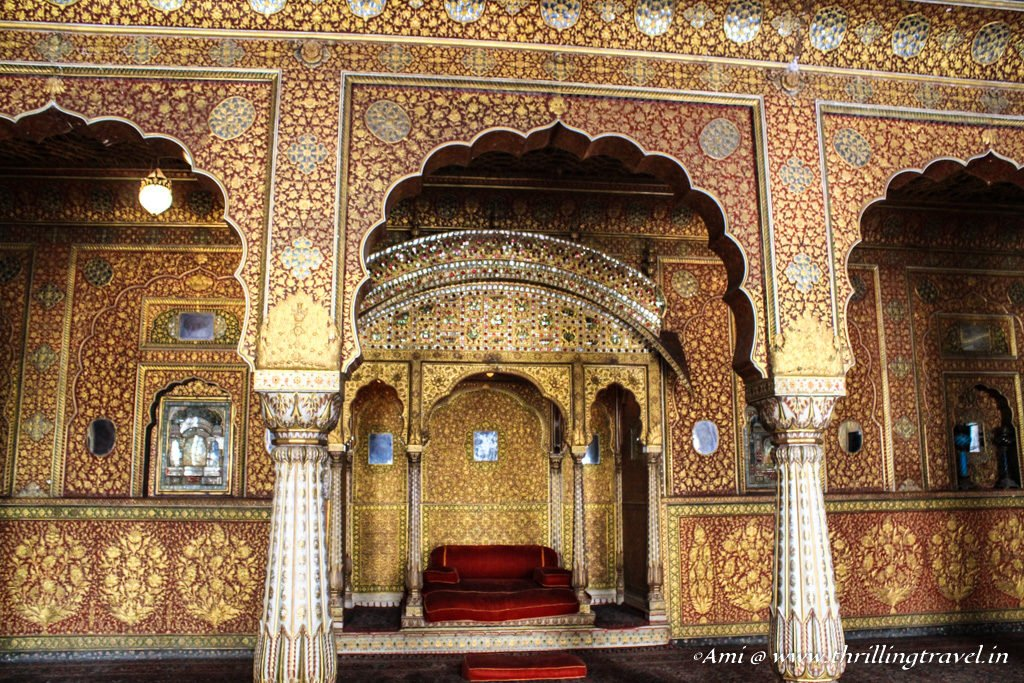 Colors of Anup Mahal, Junagarh Fort