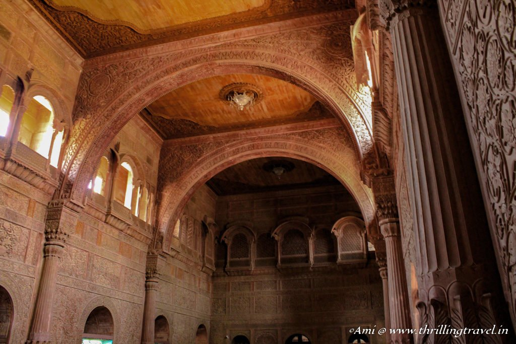 Durbar Hall in Junagarh Fort, Bikaner