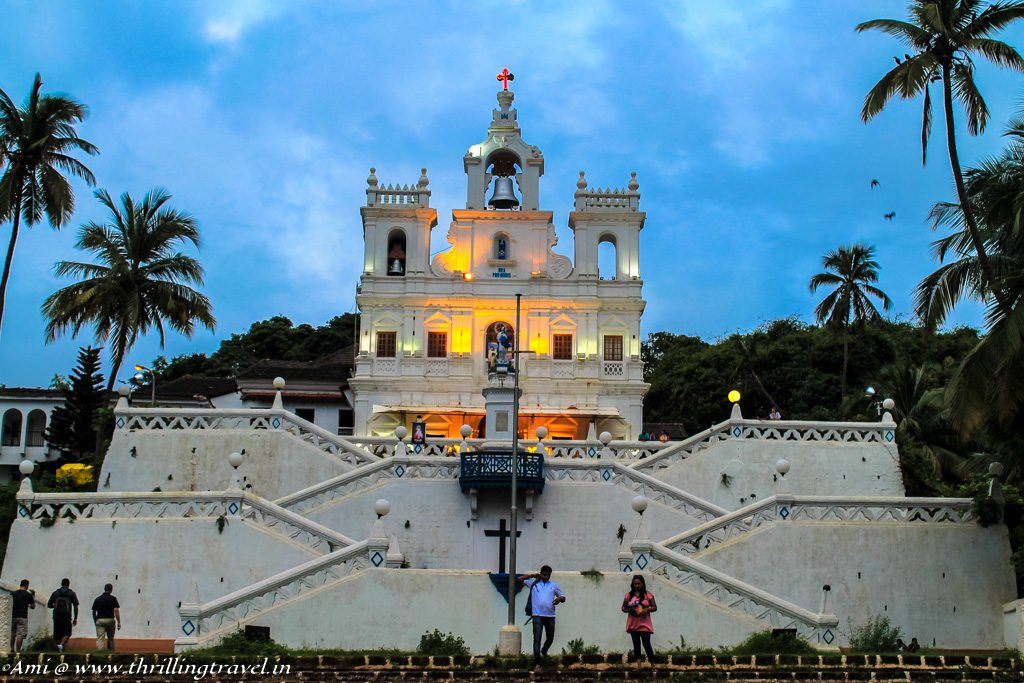 Our Lady of Immaculate Conception Church in Panjim, Goa