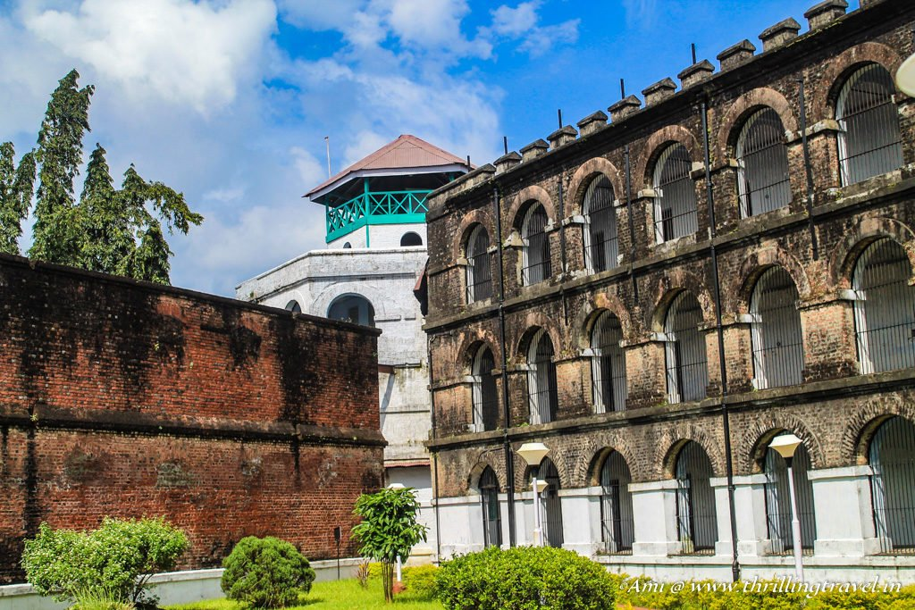Central Tower of the Cellular Jail