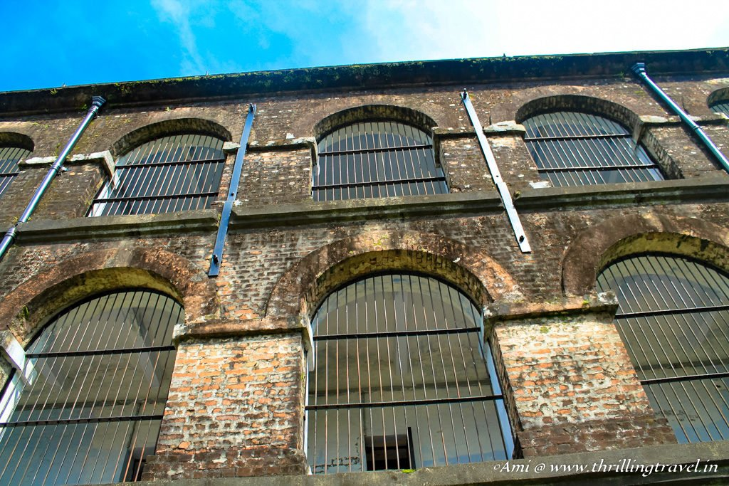 Double barred cells of the Cellular Jail
