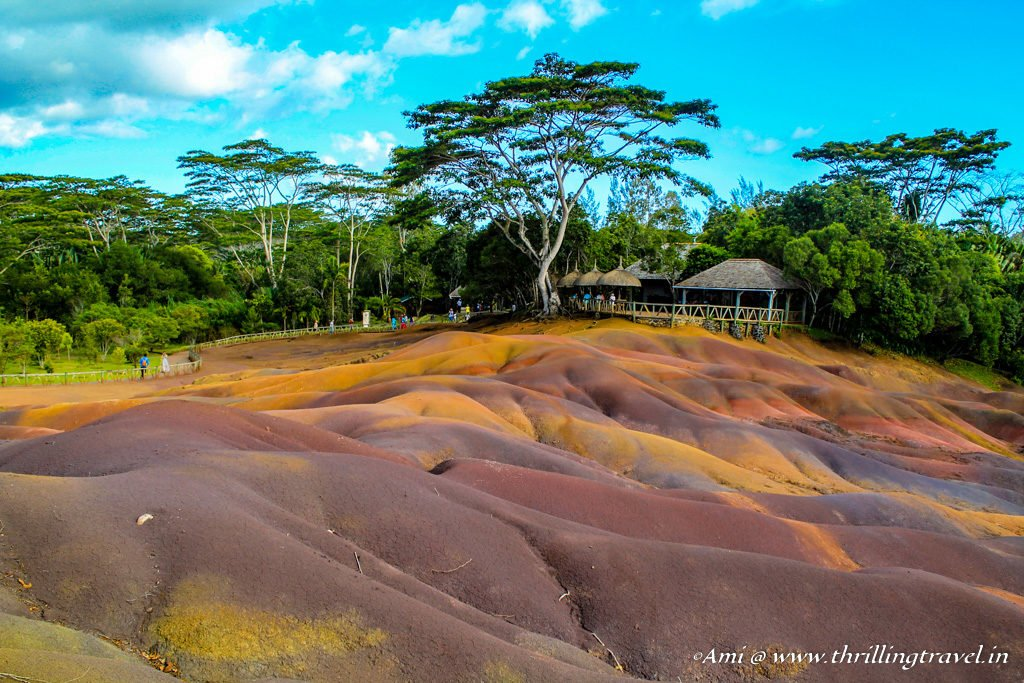 7 colors of the earth at chamarel in mauritius thrilling travel