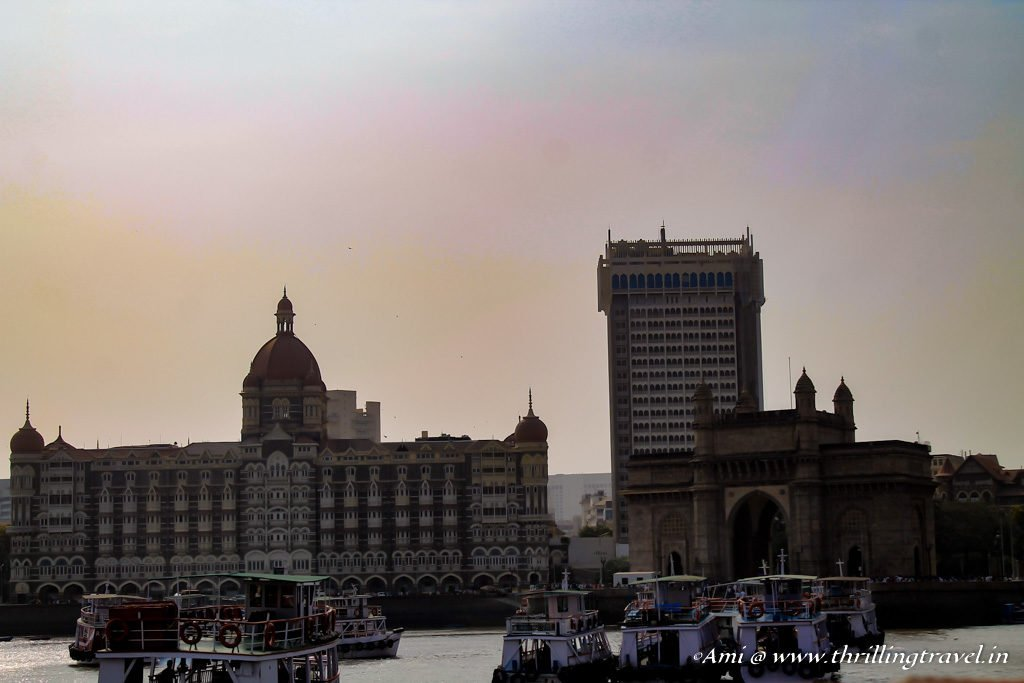 Gateway of India from the Arabian Sea