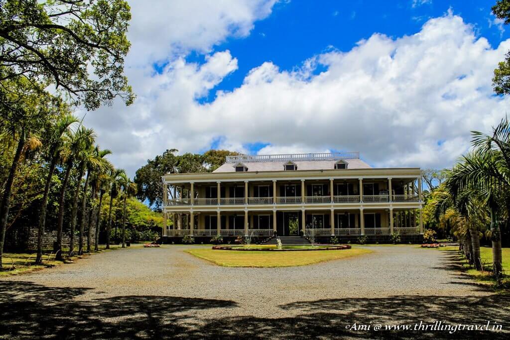 Weddings in Mauritius can be royal at Chateau de Labourdonnais