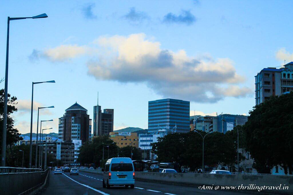 Roads in Mauritius