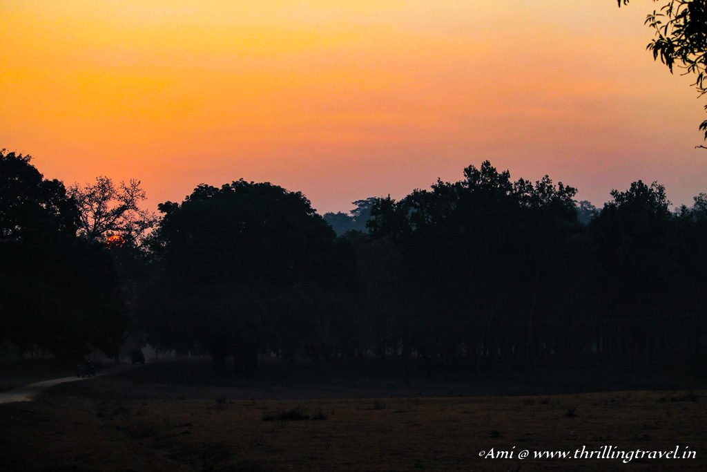 Sunrise at Kanha National Park