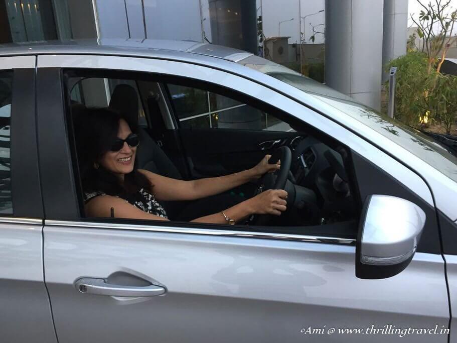 Driving the Tata Tigor