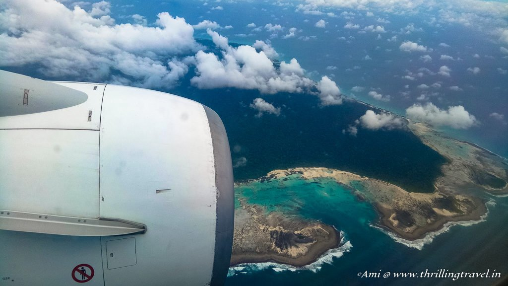 Andamans from my flight