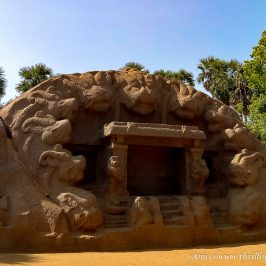 Tiger Caves in Mahabalipuram