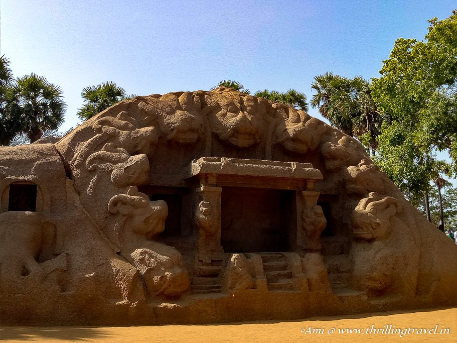Tiger Caves in Mahabalipuram