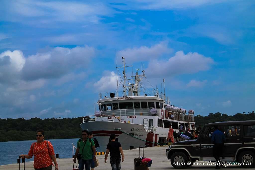 Cruise to Havelock from Phoenix Jetty in Port Blair