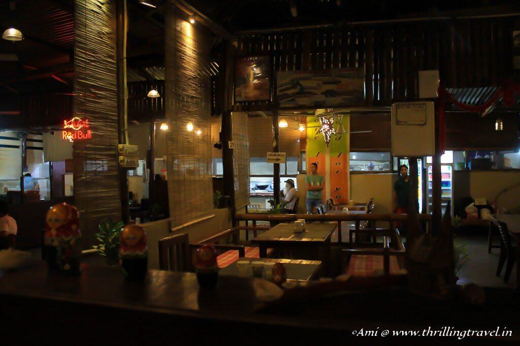 A multi-cuisine restaurant in Havelock, Andamans