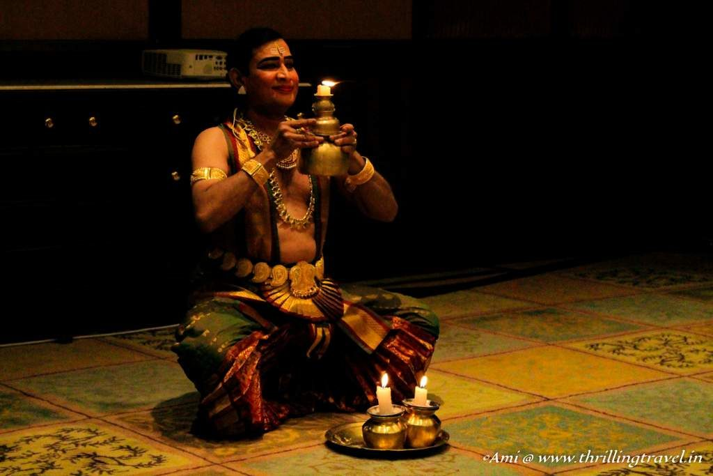 Cultural Program at the Taj West End, Bangalore - Part of the Grand Welcome to Golden Chariot