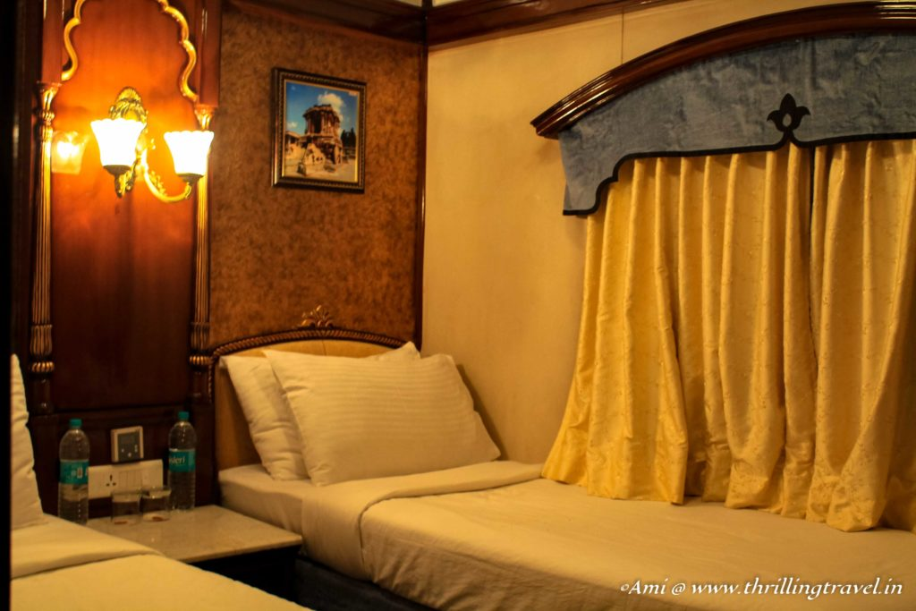 My room in Adilshahi Coach of the Golden Chariot