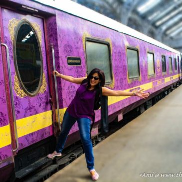 A luxury train journey on the Golden Chariot through South India