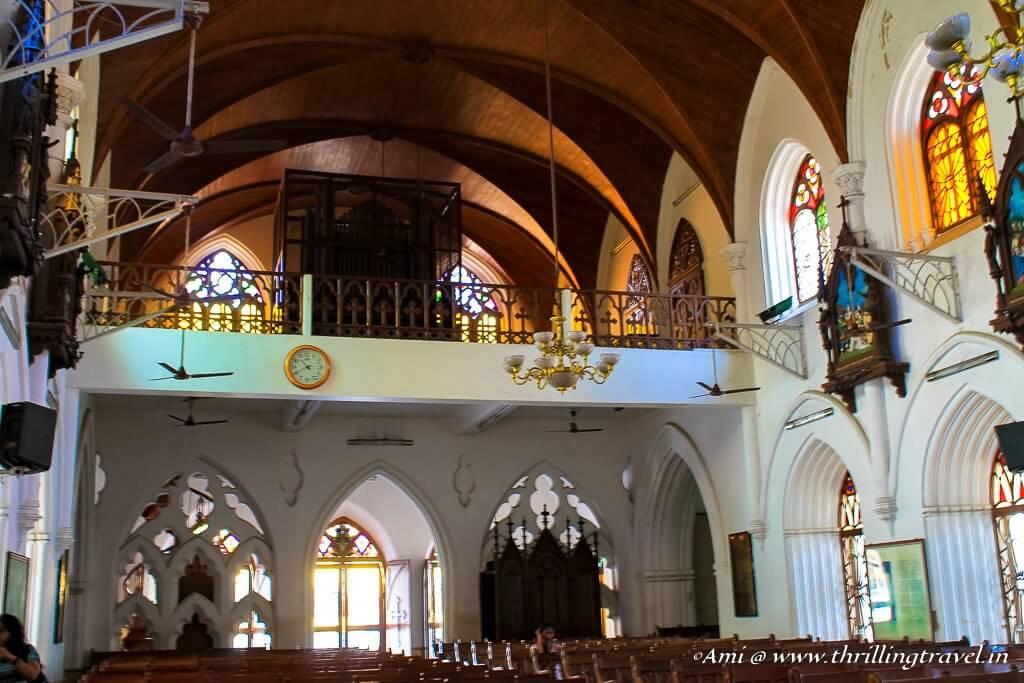 Inside Santhome Church, Chennai